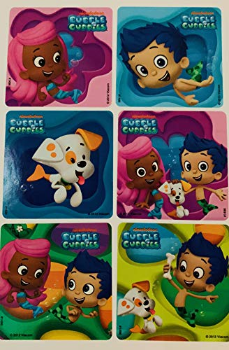 Bubble Guppies 40 Piece Sticker Set ~ Birthday Party Favors 2 1/2