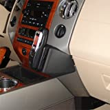 KUDA 095355 Leather Mount Black Compatible with Ford Expedition (Since 2007)