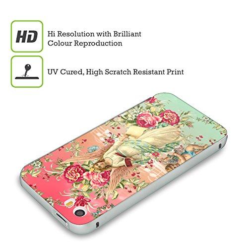 Officiel Mark Ashkenazi Anges Fleurs Argent Étui Coque Aluminium Bumper Slider pour Apple iPhone 6 Plus / 6s Plus