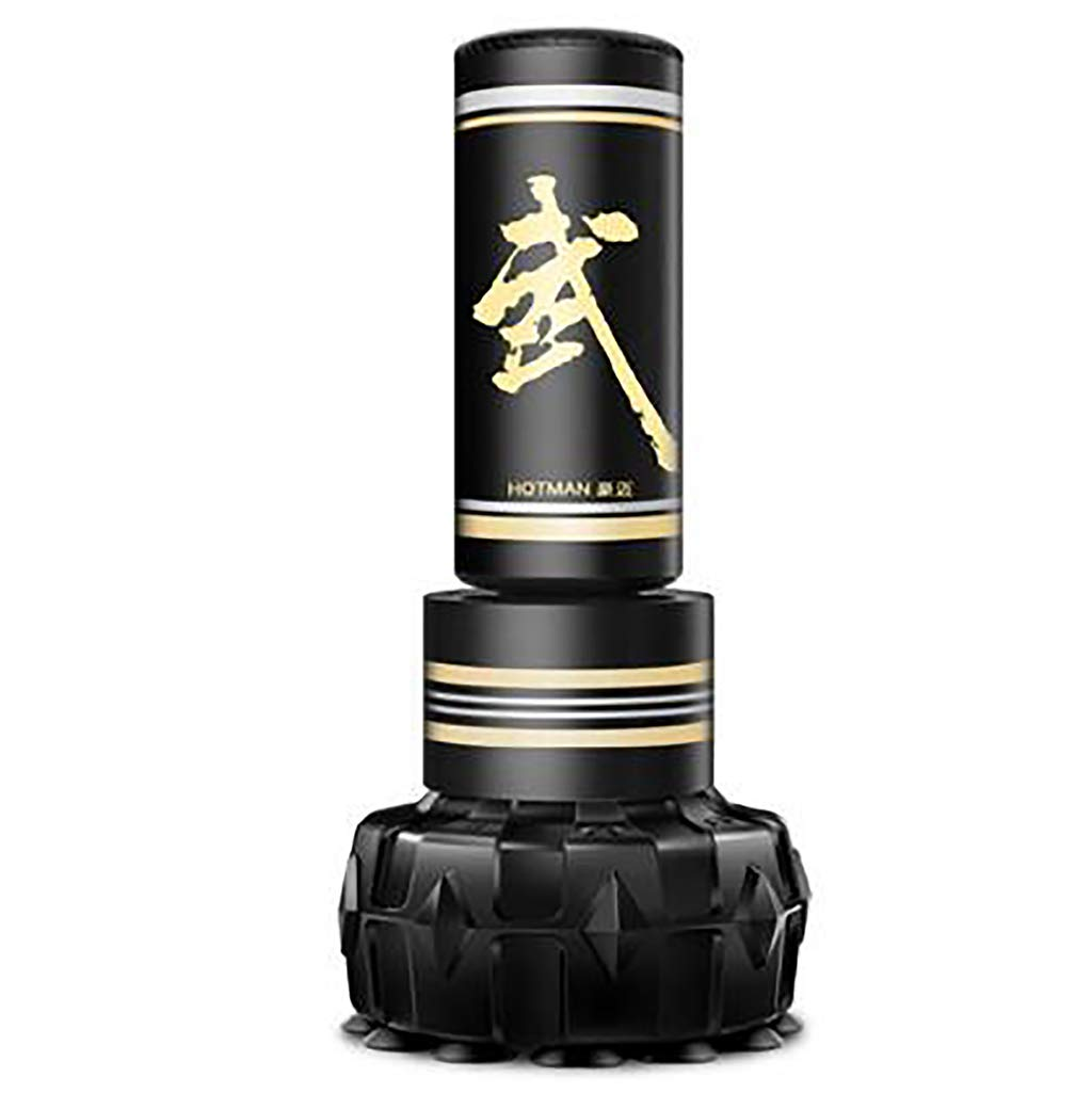 Free Standing Excellent Quality Heavy Duty Punch Bag, Free-Standing Fitness Target Stand Tower Bag, Tumbler Column Sandbag, Kick Boxing | Martial Arts | MMA by JWD - Boxing sandbag