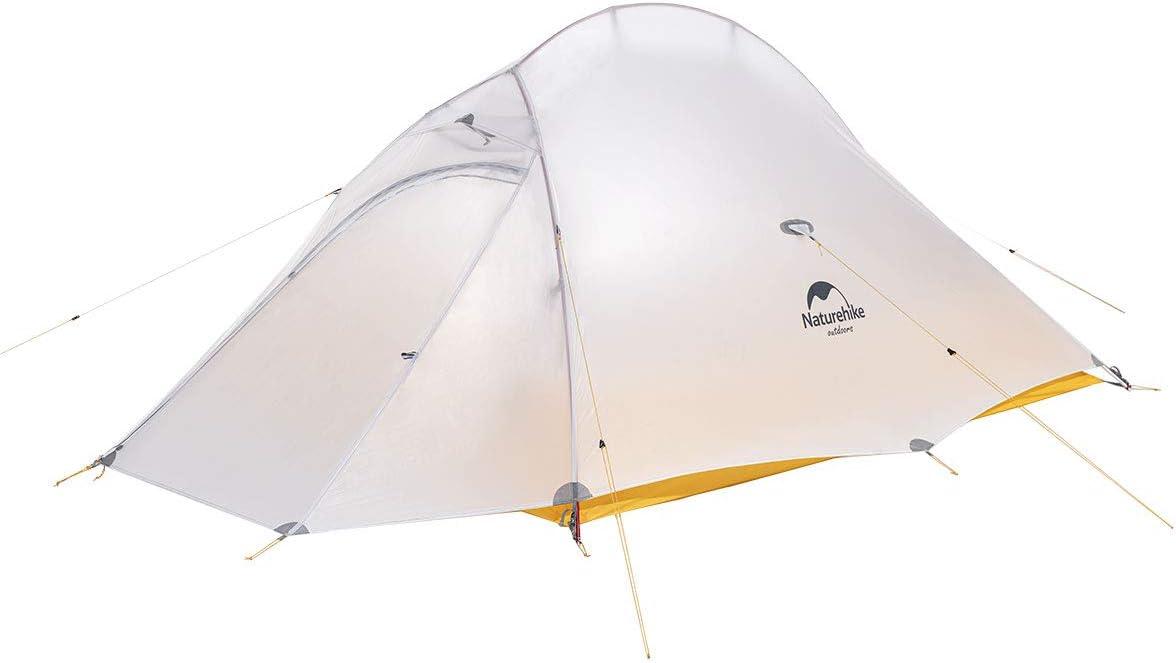 Naturehike Cloud up Ultraleichtes Zelt für 2 Personen Doppelten Zelt 34 Saison Camping Zelt