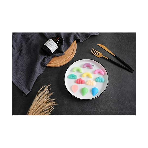 UMTGE - Vaschetta per cubetti di ghiaccio, in silicone e flessibile, 11 vassoi per ghiaccio, per bambini, con caramelle… 7 spesavip