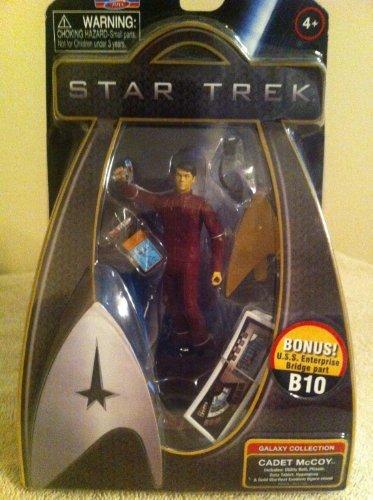 Star Trek 2009 Galaxy Collection 3-3/4 Cadet McCoy with Bonus USS Enterprise Bridge part B10 ()
