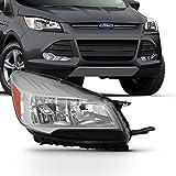 For 2013 2014 2015 2016 Ford Escape [Factory Halogen] Headlight Passenger Right Side RH