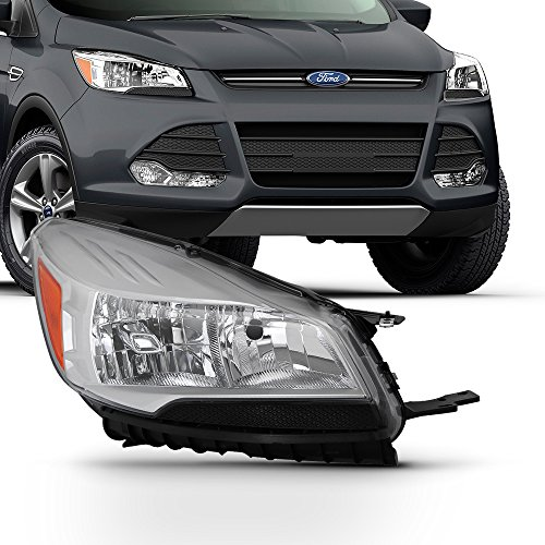 For 2013 2014 2015 2016 Ford Escape [Factory Halogen] Headlight Passenger Right Side ()