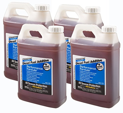 Stanadyne Performance Formula Diesel Fuel Additive 4 Pack of 1/2 Gallon Jugs - Part # 38566 -