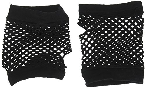 Black Fishnet Glove - Black Fishnet Gloves - Short