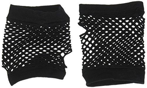 Black Fishnet Gloves - Short]()