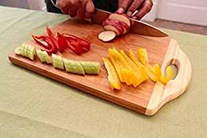 Bamboo Cutting Boards - Premium Small, Medium & Large Wood, Bamboo Chopping Board Sets by Ergo Kitchen Accessories