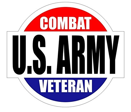 1 Set Glittering Unique U.S. Army Combat Veteran Window Stickers Laptop Luggage Home Wall Room Graphics Marines Corps Decor Vinyl Art Sticker Patches Size 2