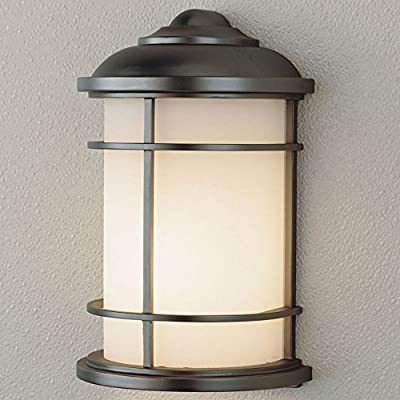 Feiss Lighthouse Outdoor Wall Bracket Lantern - 11H in. Burnished Bronze