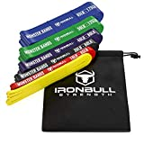 Pull Up Assist Band, Premium Stretch Resistance Bands - Mobility Bands - Powerlifting Bands - Extra Durable and Heavy Duty Pull-Up Bands - Works with Any Pullup Station (Six-Band Set)