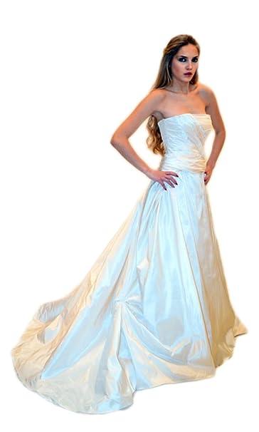best cheap 3d6ae 17407 Abito da sposa sartoriale alta moda made in Italy (Mod. A 56 ...