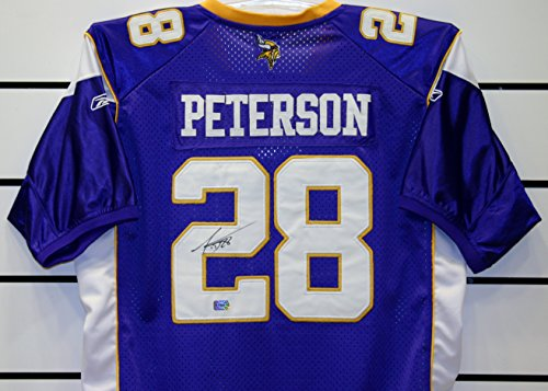 (Adrian Peterson Autographed Jersey)