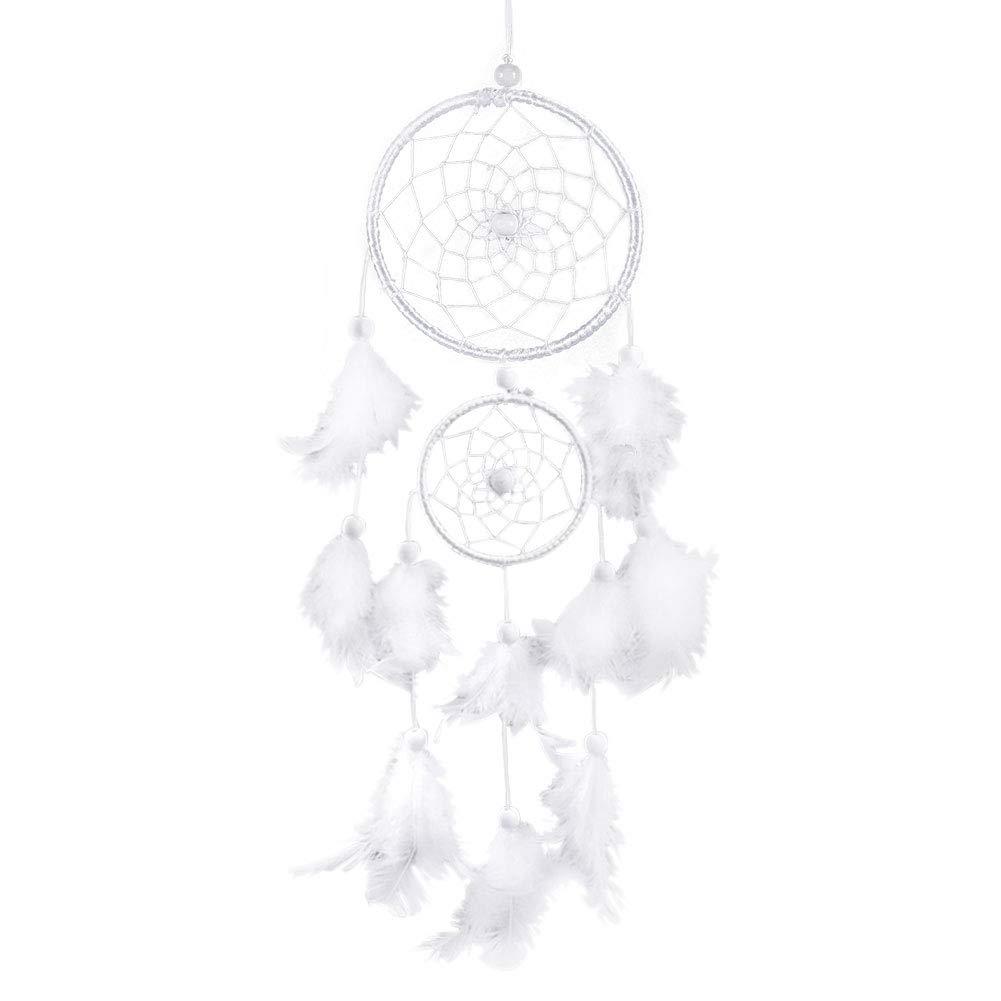 GLOGLOW Dream Catcher Net Handmade Indische Traditionelle Feder Wandbehang Wohnkultur Auto H/ängende Dekoration Ornament Handwerk Geschenk