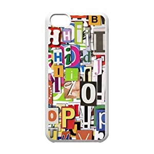 Letter ZLB562185 Customized Case for Iphone 5C, Iphone 5C Case