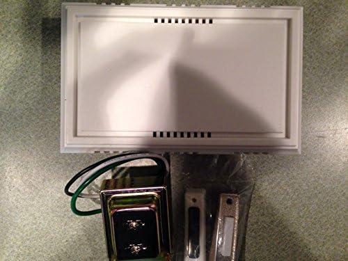 Nickel Brush Button / Wired Contractor Doorbell Kit
