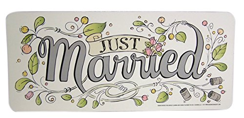 Just Married Wedding Magnet Decoration for Car, Refrigerator, or Office, 9 -