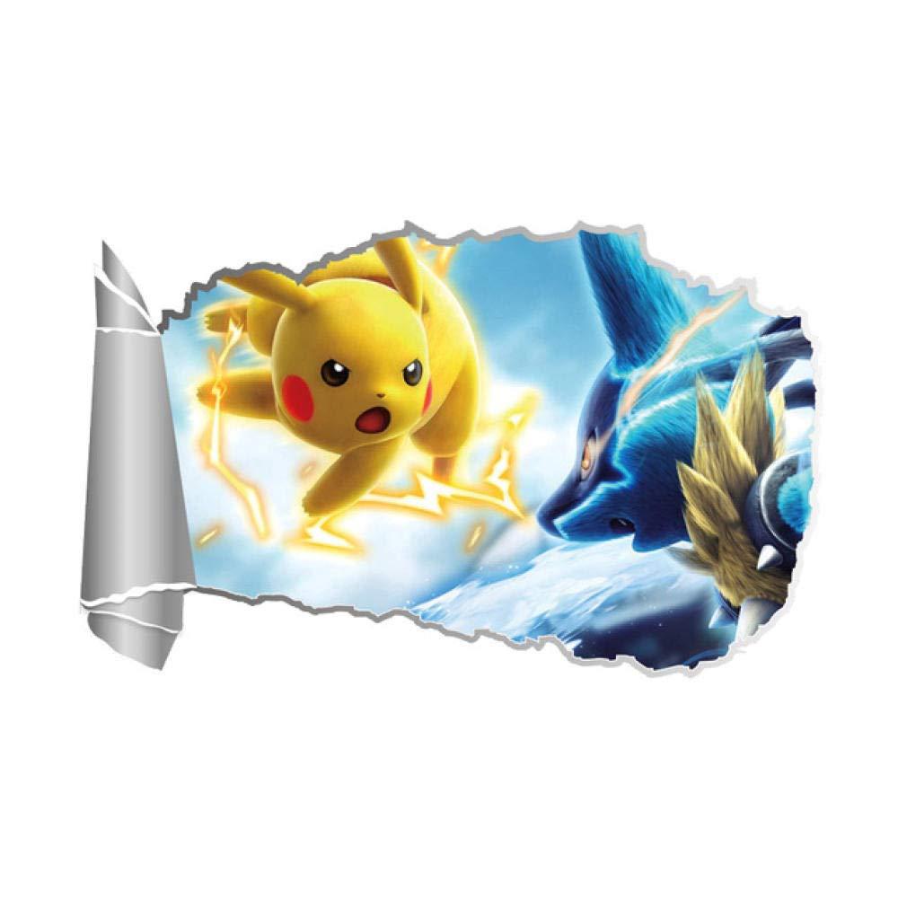 Efecto 3D Juego De Pokemon Go A Través De Pegatinas De Pared Para ...