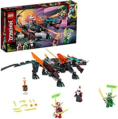 Amazon.com: LEGO NINJAGO Empire Dragon 71713 Ninja Toy ...