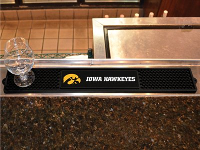 Licensed Iowa Hawkeyes Pub Table (Fanmats Sports Team Logo University of Iowa Drink Mat 3.25x24)