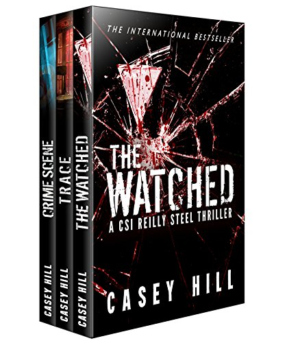Series Personal Gps - CSI Reilly Steel Box Set #2: The Watched - Trace - Crime Scene