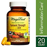 Cheap MegaFood – Turmeric Strength for Joint, Curcumin Support for a Healthy Inflammation Response and Comfortable Joints with Devil's Claw and Ginger Root, Vegan, Gluten-Free, Non-GMO, 20 Tablets (FFP)