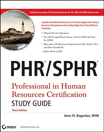 amazon com phr sphr professional in human resources certification
