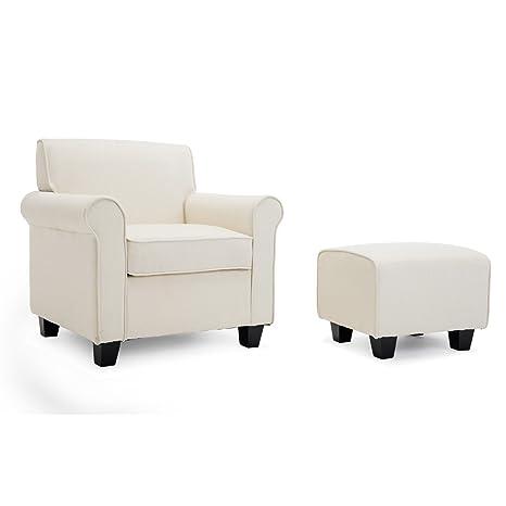 Amazon.com: belleze Audrey acentuado Retro silla de estilo ...