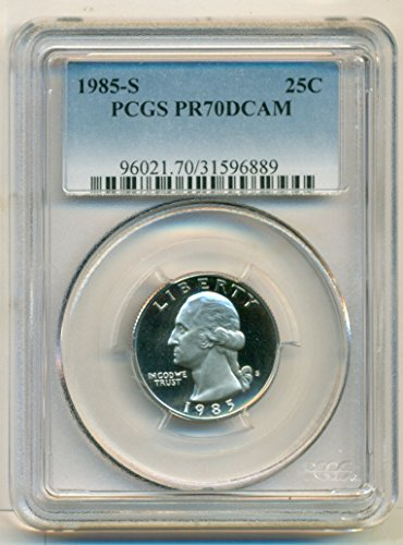1985 S Washington Proof Quarter PR70 DCAM PCGS