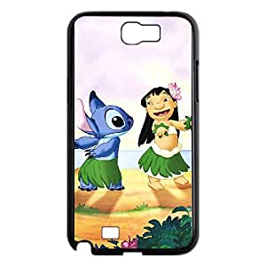 Lilo & Stitch Samsung Galaxy N2 7100 Cell Phone Case Black Phone cover R49390603