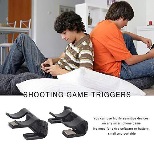 Amazon.com: 2 Unids Disparos rápidos Juego de disparos Botón físico Herramientas de asistencia Sensible: Office Products