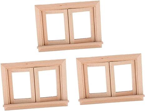 12 Stücke Holzornament für Schrank Fenster Möbel Dekoration
