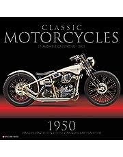 Classic Motorcycles 2021 Wall Calendar
