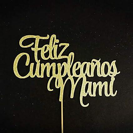 Feliz cumpleaños mamá decoración para tartas, Feliz Cumplea ...