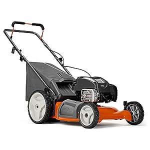Husqvarna LC121P 163cc 21-in Gas Push Lawn Mower with Mulching Capability 961330027
