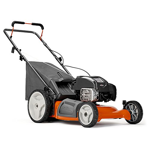 Gasoline powered lawn mower