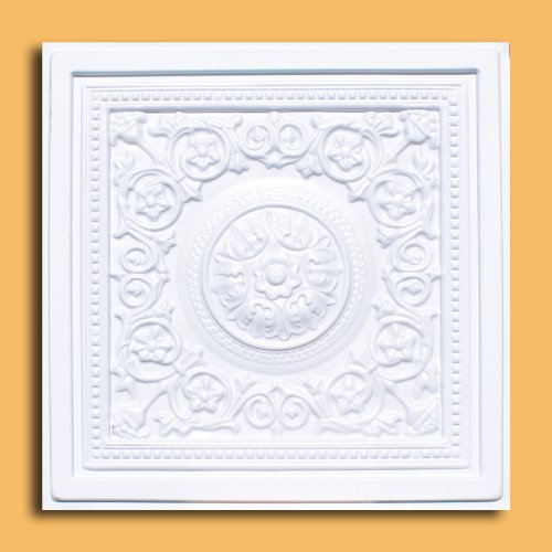 Majesty White 24x24 Ceiling Tile