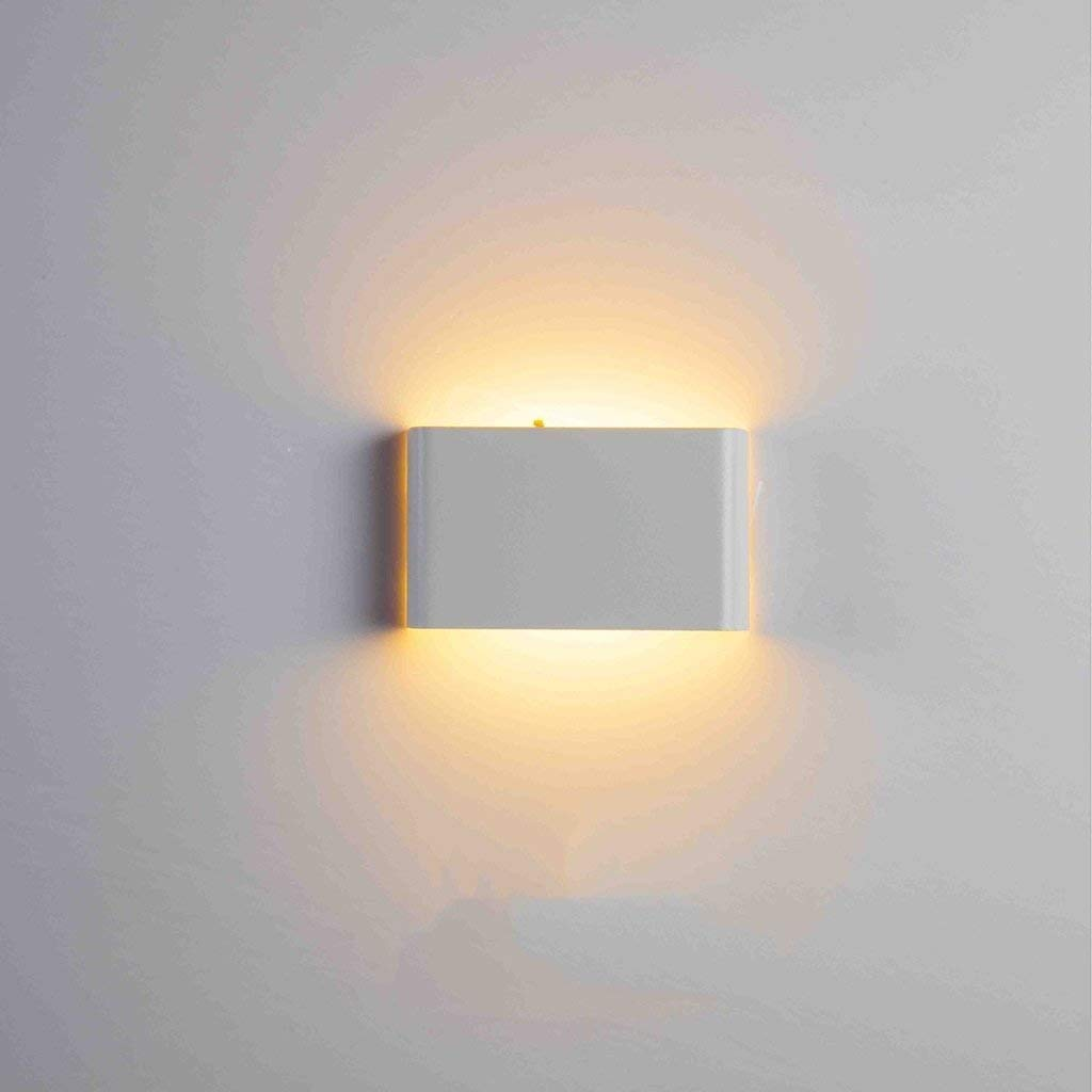 Mirror Lamps Home Wandmontierte LED Wasserdichte Wandleuchte Moderne Minimalistische Wandleuchte Schlafzimmer Nachttischlampe Gang Wandleuchte Projekt Außenwandleuchte (Farbe   D)