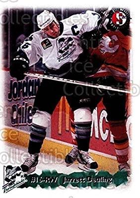 (CI) Jarrett Deuling Hockey Card 1998-99 Kentucky Thoroughblades 6 Jarrett Deuling
