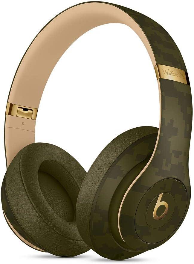 Beats by Dr. Dre Studio3 Inalámbrico Auriculares, Beats Camo Collection, Verde bosque