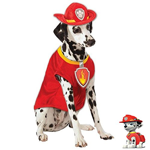Paw Patrol Marshall The Fire Dog Pet Costume - Small (Fire Pet Dog Costume)