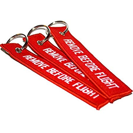 ce72e9d82634 Generic Remove Before Flight Embroidered Canvas Specil Luggage Tag ...