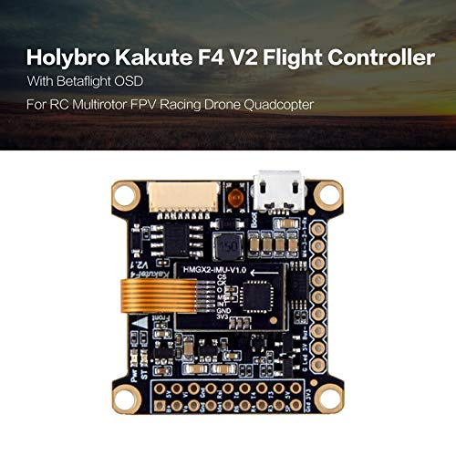Wikiwand Holybro Kakute F4 V2 Flight Controller Betaflight OSD for RC FPV Racing Drone by Wikiwand (Image #2)