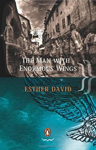 book cover of The Man With Enormous Wings