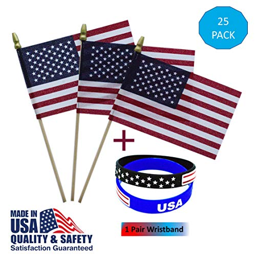 (25 Pack USA 4