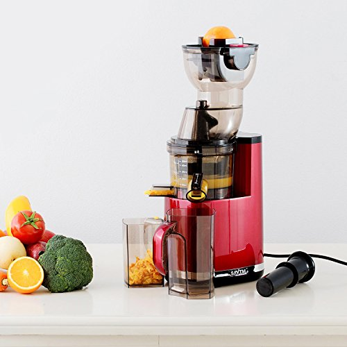 Slow Juicer Uae : SAvTM JE120-08M00 New Electric Masticating Wide Mouth Whole Chute Anti-Oxidative Fruit and ...