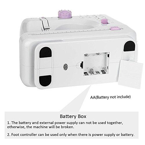 Mini Máquina de Coser Eléctrica de mano para mujeres y niñas (Versión 2): Amazon.es: Hogar