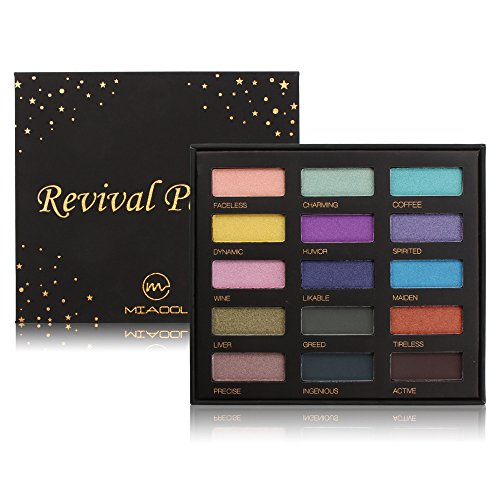 Eyeshadow Palette Shimmer Matte Glitter Eye Shadow 15 Colors Eyeshadow MakeUp Palette - Exclusive Lip & Eye Palette