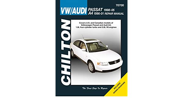 VW Passat & Audi A4: VW Passat, 1998 Thru 2005 and Audi A4, 1996 Thru 2001 Chiltons Total Car Care Repair Manuals: Amazon.es: Eric Godfrey: Libros en ...